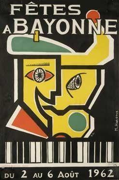 3 AOUT 1962- FETES DE BAYONNE-